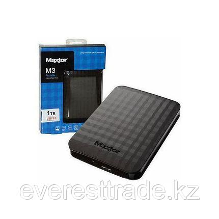 Внешний жесткий диск Seagate (Maxtor) 1TB 2.5'' STSHX-M101TCBM USB 3.0 черный, фото 2