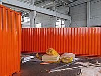 Покраска строительной бытовки
