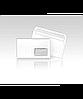 Конверт евро с окном белый