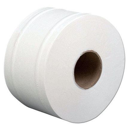 Бумага туалетная Jumbo ELITЕ белая 100% целлюлоза, 130 метров, 2-слойная, фото 2