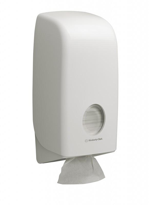 Диспенсер для листовой туалетной бумаги Aquarius 6946