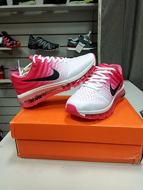 Женские кроссовки nike air max 2017 Version III (3) White pink, фото 2