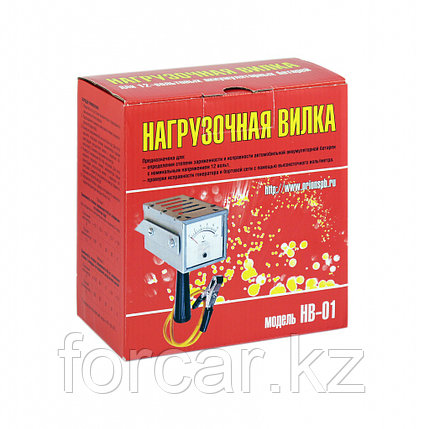 Тестер аккумулятора (нагрузочная вилка) НВ-01, фото 2