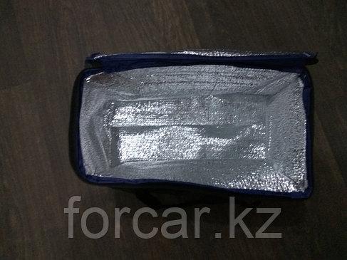 Термосумка для напитков и продуктов, 36*19*18 см 12л. (Синяя), фото 2