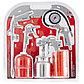 (57304) Набор пневмоинструмента, 5 предметов, быстросъемное соед., краскорасп. с верхним бачком// MATRIX, фото 2