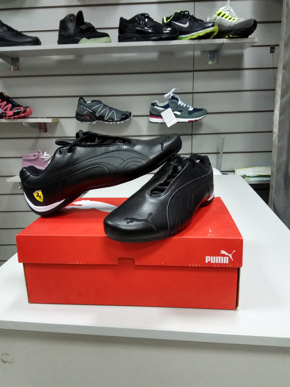 Кроссовки Puma Ferrari Design Black
