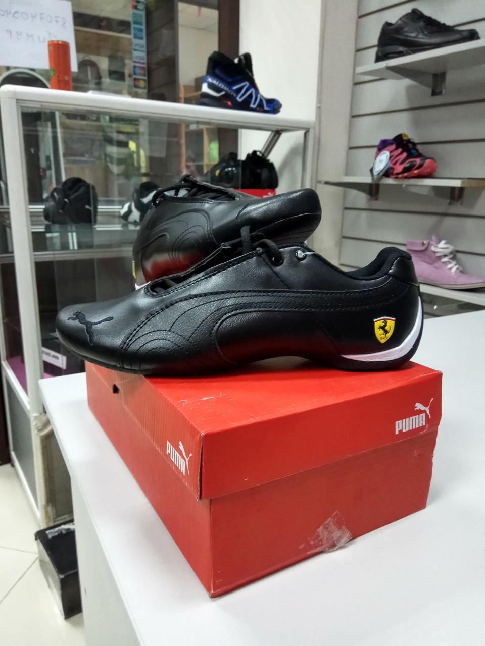 Кроссовки Puma Ferrari Design Black - фото 2