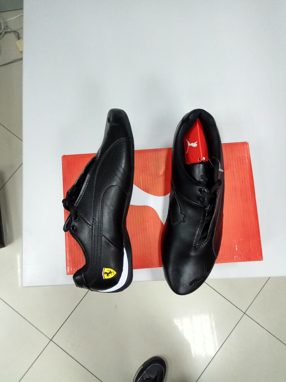 Кроссовки Puma Ferrari Design Black - фото 3