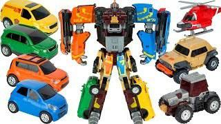 Робот-трансформер  мини  Тобот Гига 7