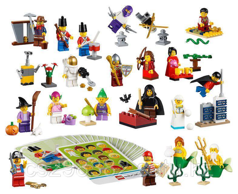 Робототехника.Сказочные и исторические персонажи LEGO®, 213 деталей, возраст 4+.Арт.45023