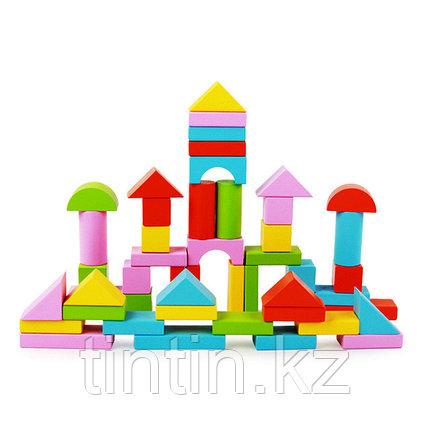 Деревянный конструктор- Городок, 39 деталей, фото 2