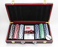 Набор для покера POKER CHIPS, 300 фишек