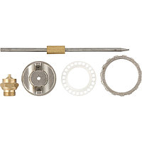 (57380) Ремкомплект для краскораспылителя 4 предмета : сопло 1,2 мм + игла + форсунка + зажим сопла//MATRIX