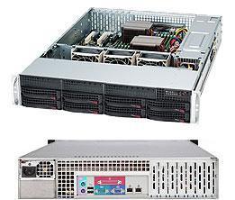 Корпус серверный Supermicro CSE-825TQ-563LPB