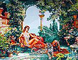 "Картина по номерам ""Девушка с леопардом. М.Сатаров"", фото 2"