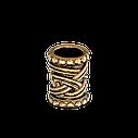 Кольцо для бороды от Borodist бронза 9 мм, фото 2
