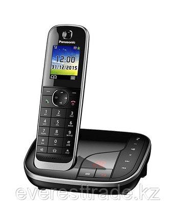 Телефон беспроводной Panasonic KX-TGJ320UCB Black-silver, фото 2