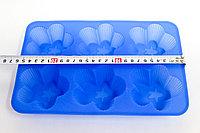 """Силиконовая форма для кексов, прямоугольная,""""Ромашки"""", 26*20 см"""