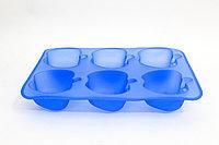"""Силиконовая форма для кексов, прямоугольная,""""Яблоки"""", 26*16 см"""