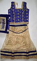 Детский индийский костюм (топ+юбка+шарф)
