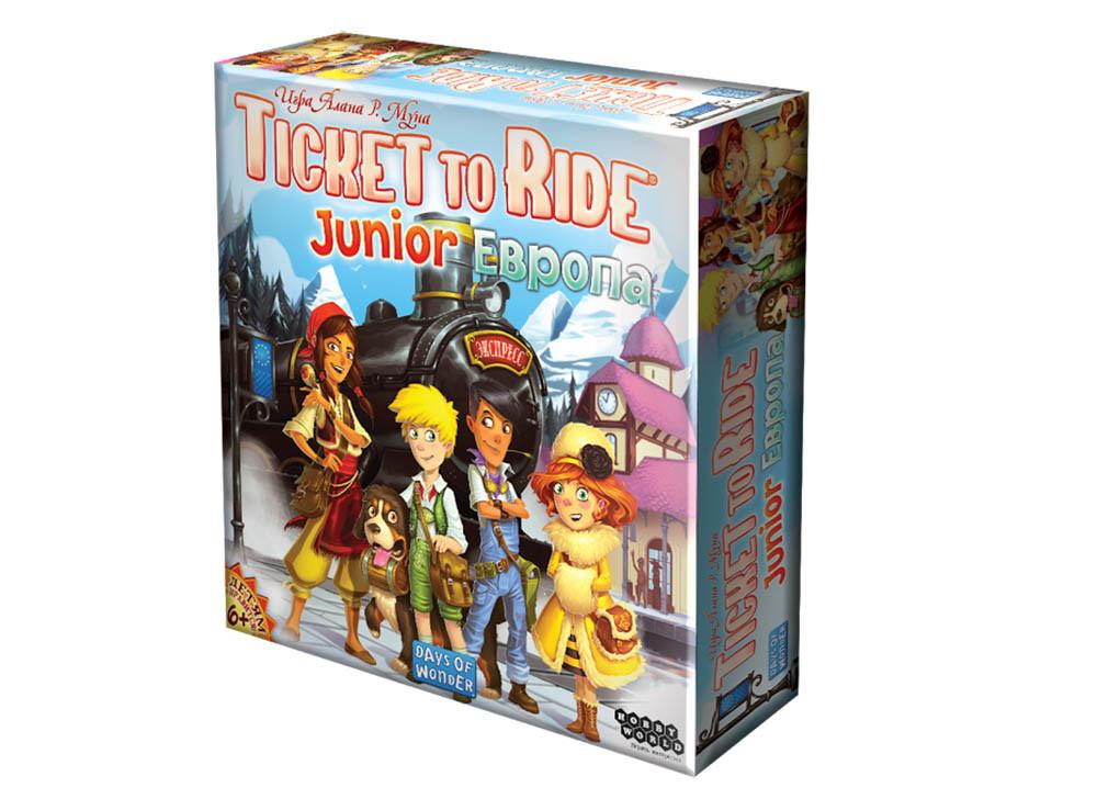 Настольная игра: Ticket to Ride Junior: Европа - фото 1