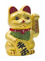 Статуэтка Японский кот удачи (Манеки неко) 16,5 см