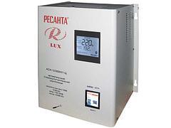 Однофазные настенные стабилизаторы напряжения (220 В) Ресанта Lux