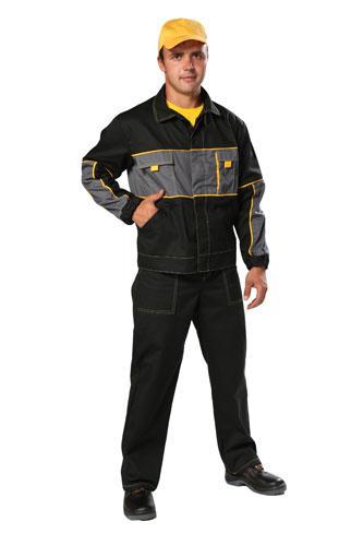 Костюм рабочий летний «A» (куртка и полукомбинезон)