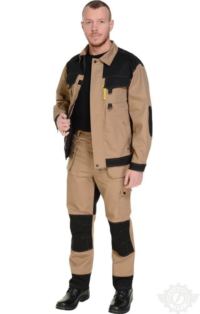 Рабочий костюм летний «С» (куртка и полукомбинезон)