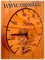 Термометр с гигрометром Банная станция 24,5*13,5*3 см