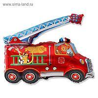 """Шар фольгированный 30"""" «Машина пожарная»"""