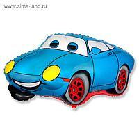 """Шар фольгированный 30"""" «Машина тачка», цвет голубой"""