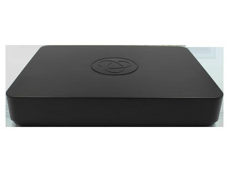 AHD+IP регистратор видеонаблюдения на 4 камеры и 1 жесткий диск