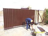 Откатные ворота 3500х2000 стандарт, фото 2