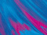 Витражная пленка с абстрактным рисунком Twilight (Голубой закат)