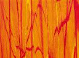 Витражная пленка с текстурой мрамора цвета Fireball (Апельсин)