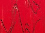 Витражная пленка с рисунком мрамора Matador (Насыщенно-красная)