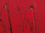 Витражная пленка с рисунком мрамора цвета Maroon (Темно-красный)