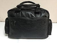 Дорожная сумка из экокожи. Высота 28 см, длина 42 см, ширина 16 см., фото 1