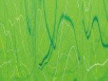 Витражная пленка с рисунком мрамора цвета Mamber (Зеленый Горох)