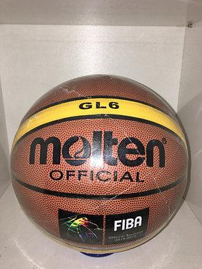 Баскетбольный мяч Molten GL6, фото 2