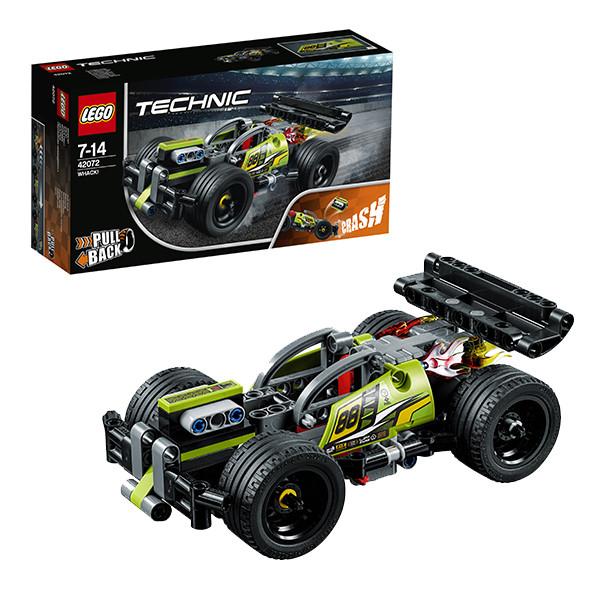 Лего Техник 42072 Зеленый гоночный автомобиль
