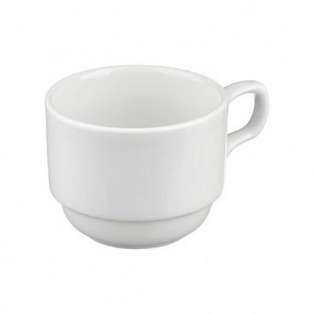 """Чашка чайная 250 мл. """"Браво"""" (блюдце ИБЛ 03.145) арт. ИЧШ 30.250, в упак. 6 шт."""