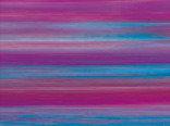 Витражная пленка с эффектом цветных разводов Voodoo (Фиолетовая дымка)