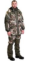 "Костюм ""ГОРКА"" зимний: куртка дл., брюки (тк.CROWN-230) КМФ ""Серый мох"""