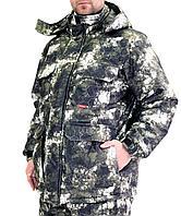 "Костюм ""Мустанг"" зимний: куртка, п/комб. (тк.Алова) КМФ Зеленые соты"