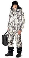 """Костюм """"СНАЙПЕР"""": куртка дл., полукомбинезон (тк. смесовая) КМФ """"Зима"""""""
