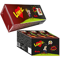 """Жевательные конфеты """"Love is"""" со вкусом Колы-Лимон 25гр / Турция/"""