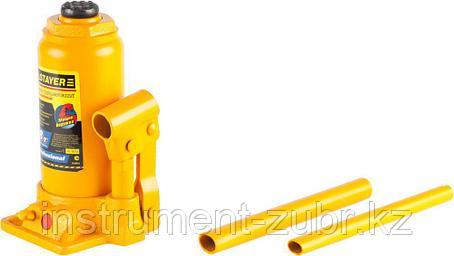 """Домкрат STAYER """"PROFI"""" гидравлический бутылочный, в кейсе, 8т, 200-385мм, фото 2"""