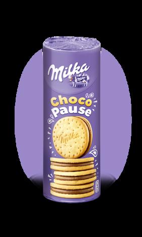 Milka Choco Pause Cookies 260гр. (упаковка 18шт)